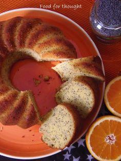 Κέικ πορτοκαλιού με παπαρουνόσπορο http://laxtaristessyntages.blogspot.gr/2013/01/blog-post.html
