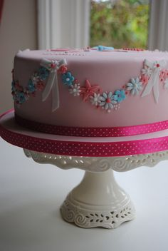 Little Girl's Birthday by Bath Baby Cakes, via Flickr