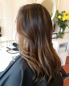 "30 Likes, 2 Comments - Hair by Kristina Fong (@hairstina) on Instagram: ""#balayage #blendedbalayage #asianbalayage #asianhaircolor #sacramentohaircolorist #sacramentohair"""