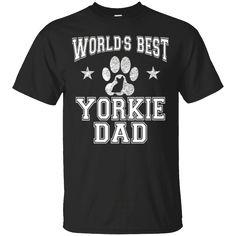 Hi everybody!   Men's World's Best Yorkie Dad Dog Owner T-Shirt   https://zzztee.com/product/mens-worlds-best-yorkie-dad-dog-owner-t-shirt/  #Men'sWorld'sBestYorkieDadDogOwnerTShirt  #Men'sYorkie #World'sDad #BestTShirt #Yorkie #DadShirt #DogShirt #OwnerShirt