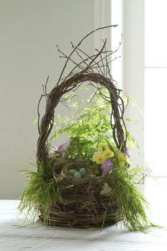 Natural Easter Basket www.MadamPaloozaEmporium.com www.facebook.com/MadamPalooza