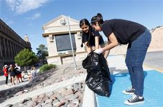 Tutoring, campus clean ups, working with non-profit organizations and other volunteering opportunities have added up to...