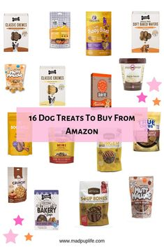 16 Dog Treats You Need To Buy From Amazon ASAP! Tiny Dog Breeds, Dog Breeds Little, Best Treats For Dogs, Diy Dog Treats, Plastic Dog House, Organic Dog Food, Dog Grooming Shop, Best Dog Toys, Puppy Biting