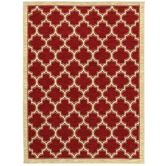 $139 Shaw Rugs Mirabella Milazzo Red Rug