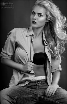 ФОТОГРАФИЯ — WEBSTER|КРЕАТИВНОЕ АГЕНТСТВО Crop Tops, Black And White, Photos, Beautiful, Women, Fashion, Short Tops, Black White, Pictures