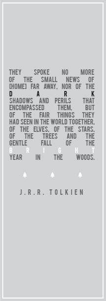 eso designs. lord of the rings. j.r.r. tolkien quote. type.