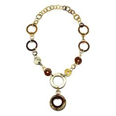 QueCraft Horn Chain Necklace - Q4213