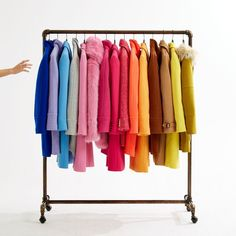 French purple, tropical blue, sapphire pink, golden sun… Find your new (very colorful) coat now in select stores and at jcrew.com.