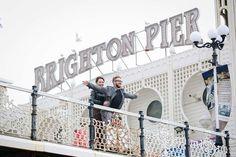 Pre wedding shoot Brighton Pier