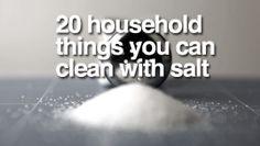 #cleaning #salt