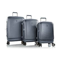 Luggage Sets Collections | Heys Portal Slate Blue 3piece Spinner Luggage Set * To view further for this item, visit the image link. Note:It is Affiliate Link to Amazon.