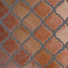 Riviera Clay Saltillo Tile… for the bathroom – Fireplace tile ideas Spanish Kitchen, Spanish Tile, Spanish House, Spanish Backyard, Interior Natural, Hacienda Style, Floor Patterns, Tile Patterns, Clay Tiles