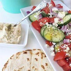 """Good For You Greek Salad 