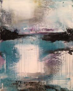 Abstract acrylic. Debi Fontaine Sellinger