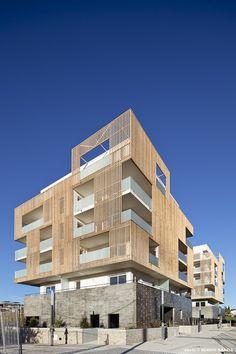 Montpellier, France  Greensquare  FLINT ARCHITECTES