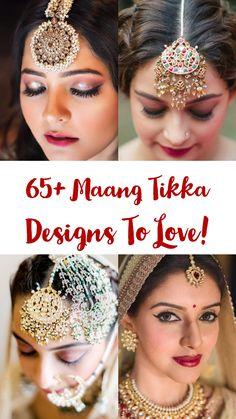 remarkable wedding and engagement hairstyles 2019 - Maang Tikka Design, Tikka Designs, Indian Jewellery Design, Indian Jewelry, Tikka Jewelry, Headpiece Jewelry, Wedding Jewelry, Gold Jewellery, Engagement Hairstyles