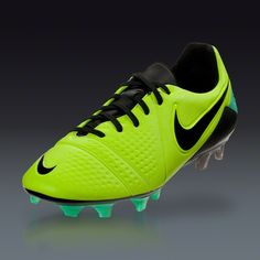 ~ Nike CTR360 Maestri III FG - Volt/Black/Green Glow  Firm Ground Soccer Shoes ~