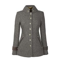 By popular demand, new items have just been added to the Last Bolt Collection. Including this Hendre jacket in taupe wool for £425.  www.katherinehooker.com/catalog/last-bolt-collection
