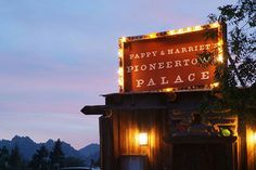 8 Epic L.A. Weekend Escapes You Have To Take NOW #refinery29  http://www.refinery29.com/los-angeles-attractions#slide8  Pappy & Harriet's Pioneer Town Palace Distance from Los Angeles: 124 miles Just outside Palm Springs is Pioneer Town, originally built as an old Western movie set and still has the bank, jail, and saloon facades to prove it. But, Pappy & Harriet's Pioneer Town Palace is more than a kitschy photo opp; it's like stepping back in time the moment you walk through the ...