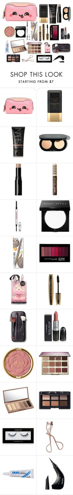 """Untitled #101"" by lauracruzsoriano-2 on Polyvore featuring beauty, Anya Hindmarch, Soleil Toujours, NARS Cosmetics, Bobbi Brown Cosmetics, SUQQU, Too Faced Cosmetics, Benefit, Maybelline and River Island"