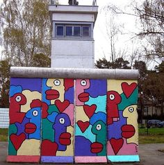 by Thierry Noir, Berlin, 2014 (LP)