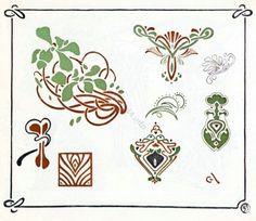 Art Nouveau Design Ornaments