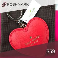 Kate spade heart ❤️ key fob Kate spade heart ❤️ key fob kate spade Accessories Key & Card Holders