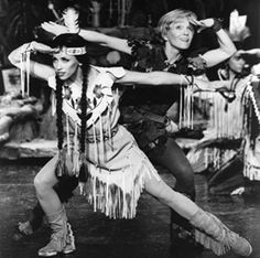 2000 made for TV Peter Pan movie with Cathy Rigby. Tiger Lily was played by Dana Solimando.