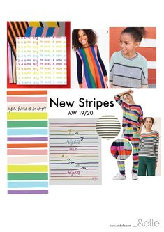New Stripes Kidswear Trend – Fashion Trends 2019 Teen Trends, Girl Trends, Kids Fashion Boy, Tween Fashion, Kids Clothing Brands, Winter Kids, Kids Wear, Color Trends, Kids Outfits