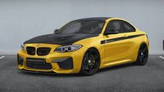 Players in the aftermarket industry are already thinking of ways to boost the BMW M2 and now MANHART has announced they will launch an upgrade in 2016.