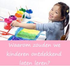 Waarom ontdekkend leren? (blog Linda Willemsen – van de Weerd)