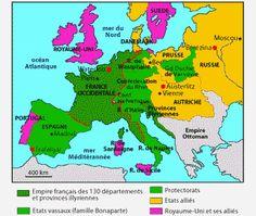 L'Europe du Premier Empire napoléonien - Mephisto-1061