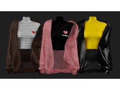 The Sims 4 Polo neck & Jacket by shendori The Sims 4 Pc, Sims 4 Cas, Sims Cc, The Sims 4 Skin, Sims 4 Cc Kids Clothing, Sims 4 Mods Clothes, Sims Mods, The Sims 4 Cabelos, Sims 4 Collections