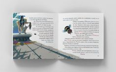 Diseño editorial. Libro infantil. Diseño y maquetación de cuento ilustrado (La princesa cautiva) #sergiohp #cuento #cuentoinfantil  #diseñoeditorial www.sergiohp.com