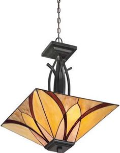 Quoizel TFAS2817VA Pendant from the Asheville Collection - Art Deco Pendants - Brand Lighting Discount Lighting - Call Brand Lighting Sales 800-585-1285 to ask for your best price!