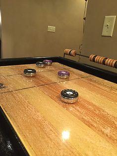 District Mfg Shuffleboard Table A High End Fancy