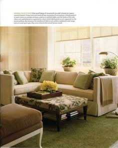 The Most Inspiring Green Room Designs. Cream Living RoomsYellow ...