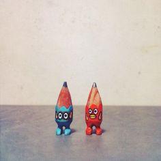 ✏️✏️ #art #acrylic #artwork #tiny #figure #doll #tinydoll #wood #woodcarving #pencil #pencilman #etsy #creative #craftsposure #stationery #handmade #miniature #skyblue