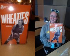Lauren Hill, a 19-year-old college basketball player whose optimism in the face of a deadly cancer diagnosis is being honored with her own Wheaties box. (Nov 2014)