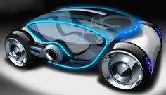Future Transportation - Phoenix All-Electric Concept Car by Huynh Ngoc Lan Auto Design, Design Autos, Automotive Design, Design Cars, Design Transport, E Mobility, Future Transportation, Futuristic Cars, Futuristic Design