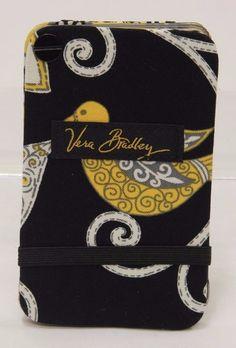 Vera Bradley Card Fan Holder Yellow Bird NWT SB0288 #VeraBradley
