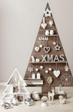 Joulupuu voi olla monenkinlainen.