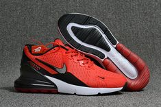 9e96e8daad2844 Air Max Cheap Wholesale x Nike Air Max 270 Red Black White Cheap Jordan  Shoes