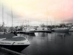 Boats on a cloudy day ;)