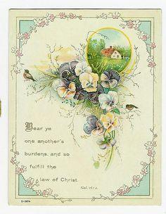 Vintage Easter Card   Flickr - Photo Sharing!
