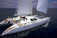 67' LAGOON catamaran sailing. This is where I want to be. No yachts or motor boats, wind powered heaven on coastal bliss.