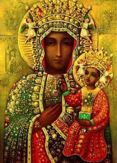 The Black Madonna of Częstochowa is a revered icon of the Virgin Mary housed at the Jasna Góra Monastery in Częstochowa, Poland.