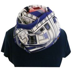 Star Wars Scarf,Star Wars, R2D2 Infinity Scarf, Star Wars Gifts, R2D2, RoOBY LaNE, Scarf on Etsy, $43.84