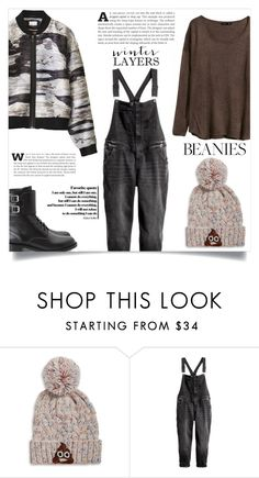 """""""Beanie"""" by dolly-valkyrie ❤ liked on Polyvore featuring Bow & Drape, H&M and Yves Saint Laurent"""