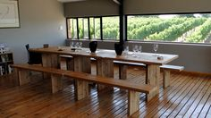 All the info about Wine tasting at Elgin Ridge Wine Estate in Elgin, South Africa Wineries, Wine Tasting, South Africa, Dining Bench, African, Table, Furniture, Home Decor, Wine Cellars